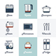 9 Kitchen Icons - GraphicRiver Item for Sale