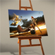 Photo Frame On Easel Mock-Up - GraphicRiver Item for Sale