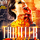Thriller Night Halloween | Flyer Template - GraphicRiver Item for Sale
