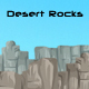 Desert Rocks Background - GraphicRiver Item for Sale