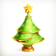Christmas Tree Icon - GraphicRiver Item for Sale