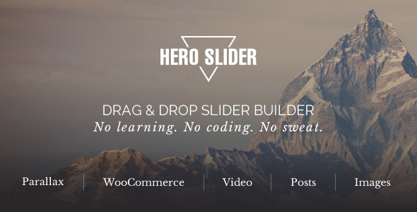 Hero Slider - WordPress Slider Plugin - CodeCanyon Item for Sale
