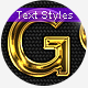Gold & Silver 6 - Text Styles - GraphicRiver Item for Sale