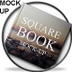 Square Book Mock-Up Set.1 - GraphicRiver Item for Sale