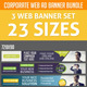 Corporate Web Ad Banner Bundle - GraphicRiver Item for Sale