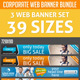 Corporate Business Web Banner Bundle - GraphicRiver Item for Sale