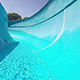 Descent From The Waterslide On Holiday - VideoHive Item for Sale
