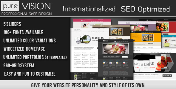PureVISION WP Theme