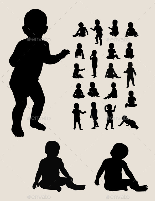Baby Silhouette Collection