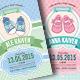 Baby Shower Invitation (Boy & Girl) - GraphicRiver Item for Sale