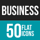 Business Flat Multicolor Icons