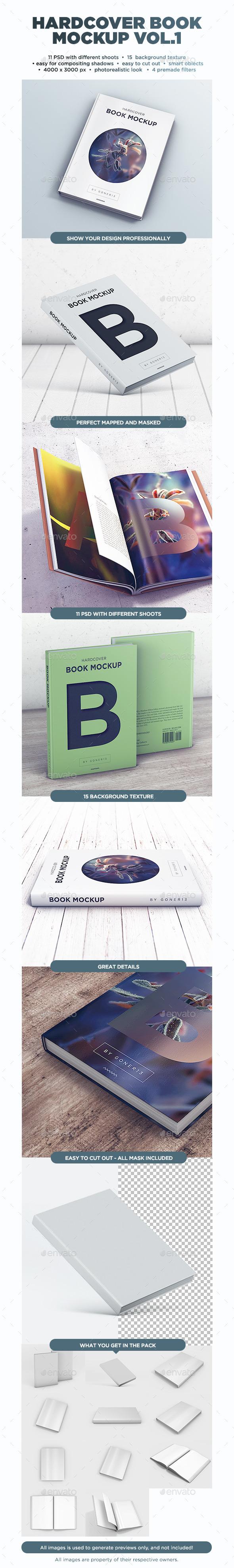 Book MockUp vol.1 - Books Print