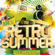 Retro Summer Flyer - GraphicRiver Item for Sale
