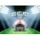 Background For Posters Night American Football - GraphicRiver Item for Sale