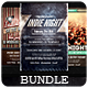 Indie Night - Flyers Bundle [Vol.7] - GraphicRiver Item for Sale
