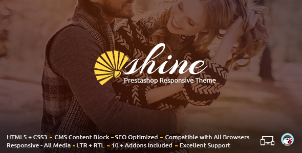Shine - Prestashop Responsive Theme - Fashion PrestaShop