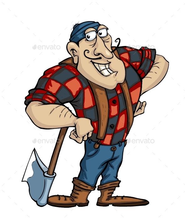 Lumberjack - Characters Vectors