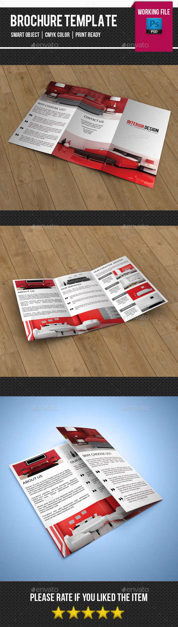 Interior Trifold Brochure-V253 - Corporate Brochures