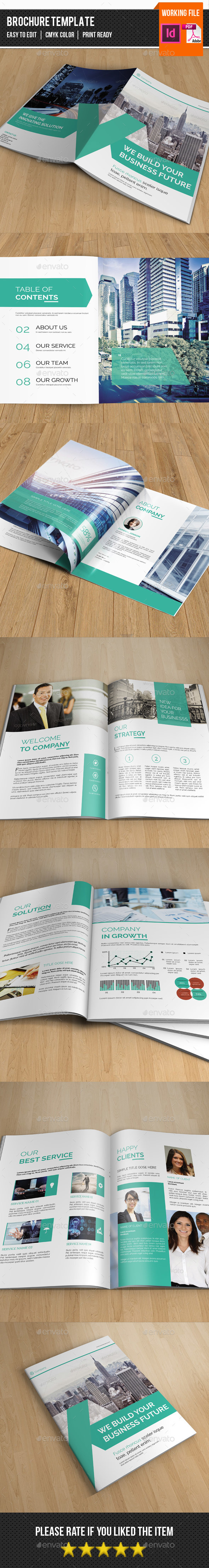 Corporate Brochure Template-V309