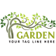 Garden Logo - GraphicRiver Item for Sale
