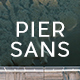 Pier Sans - Full Family - GraphicRiver Item for Sale