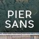 Pier Sans - Full Family - GraphicRiver Item for Sale