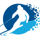 Alpine Skiing Logo - GraphicRiver Item for Sale