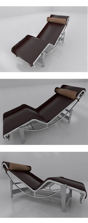 Corbusier recliner chair