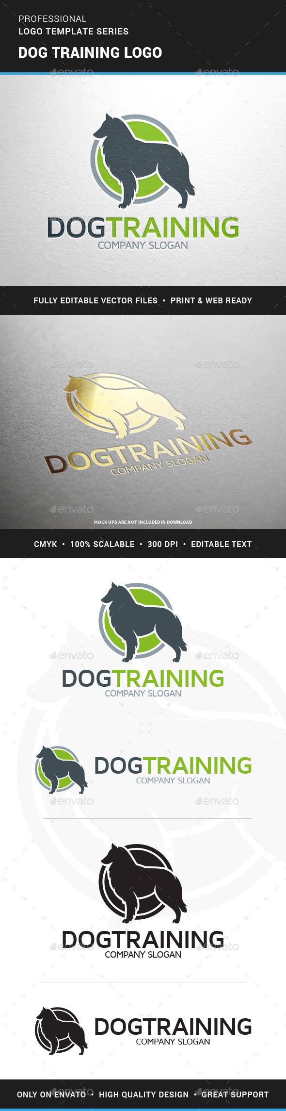 Dog Training Logo Template - Animals Logo Templates