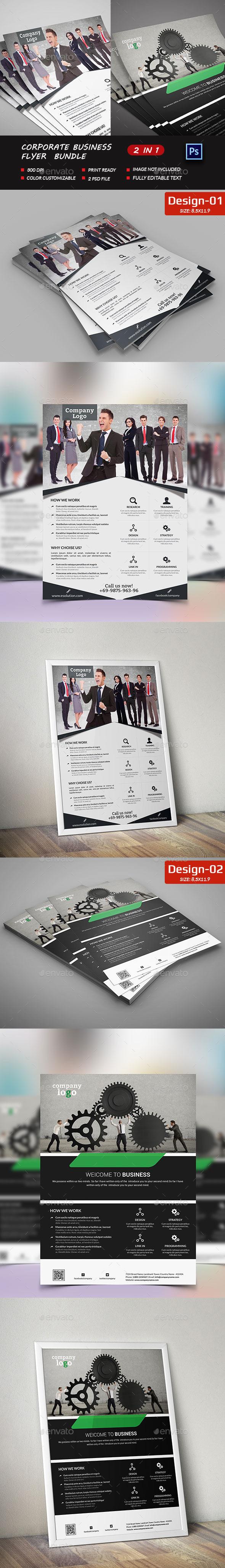 Shape Business Flyer Bundle