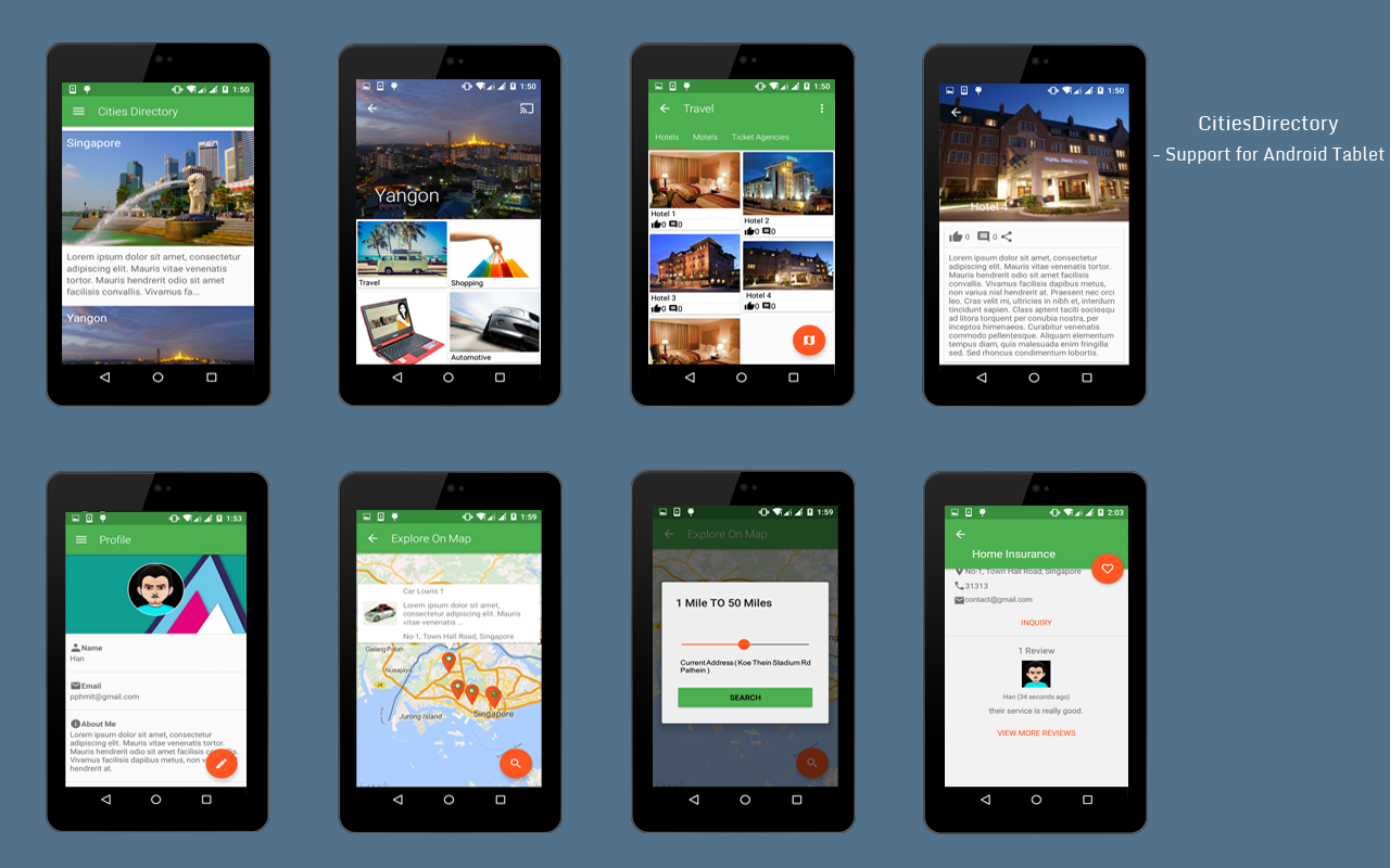 CitiesDirectory (Let's Build Directory App)