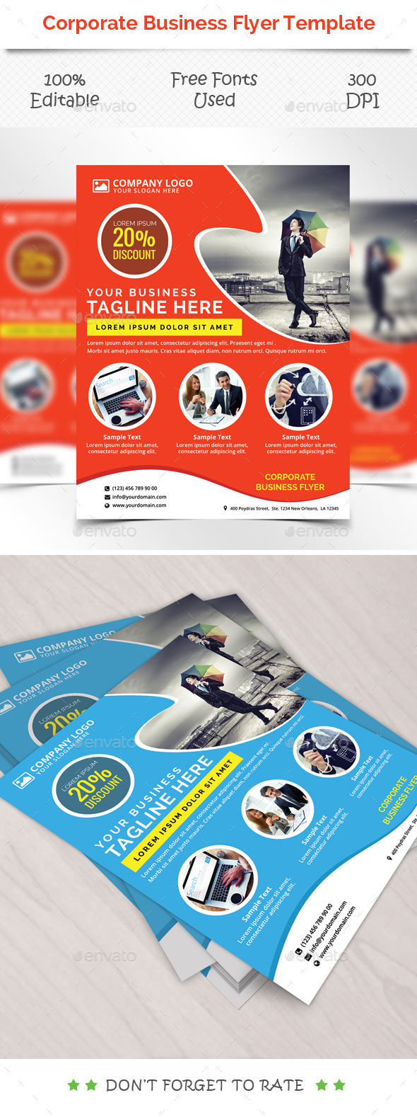 Corporate Flyer Template V 4 - Corporate Flyers