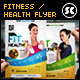 Health & Fitness Flyer / Magazine Ads - GraphicRiver Item for Sale