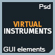 Modern Virtual Instruments GUI kit - GraphicRiver Item for Sale