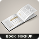 Landscape Book Mock-Up Set - GraphicRiver Item for Sale