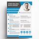 Creative Resume V4 - GraphicRiver Item for Sale