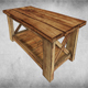 Rustic Wood Table 02