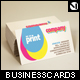 Stylish CMYK Businesscards - BLACK AND WHITE - GraphicRiver Item for Sale