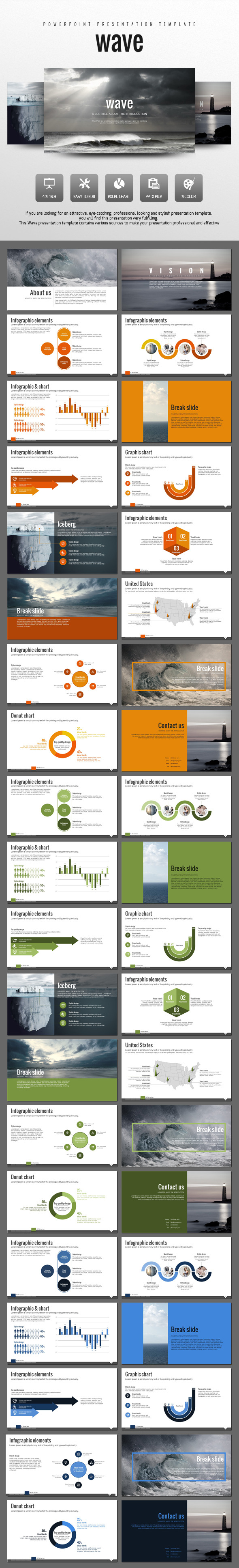 Wave - Creative PowerPoint Templates