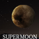 Isolated Super Moon - GraphicRiver Item for Sale