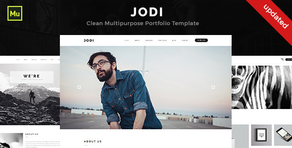 Jodi - Clean Multipurpose Portfolio Template - Creative Muse Templates
