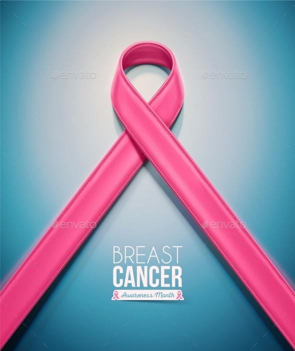 Pink Ribbon - Health/Medicine Conceptual