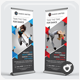 Dance Studio Roll-up Banner - GraphicRiver Item for Sale