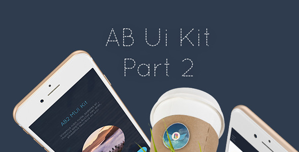 AB Part 2 Mobile UI Kit