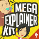 Mega Explainer toolkit : Character city - VideoHive Item for Sale
