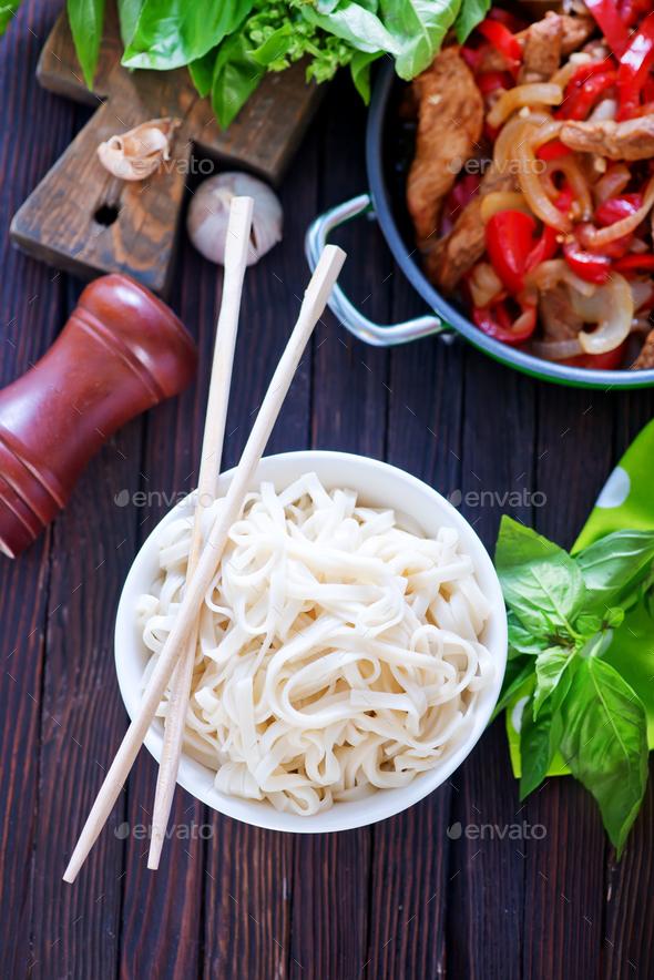 noodles - Stock Photo - Images