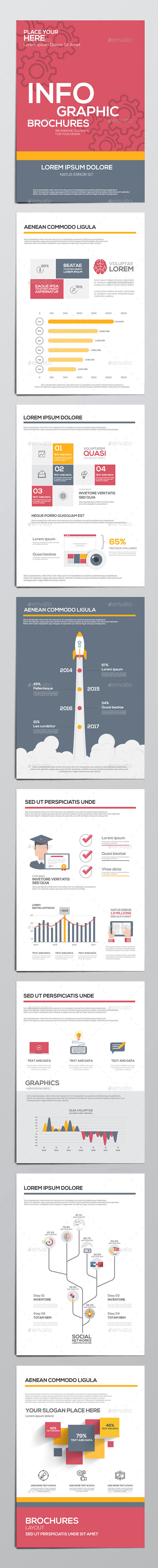Infographics Elements for Corporate Brochures - Infographics