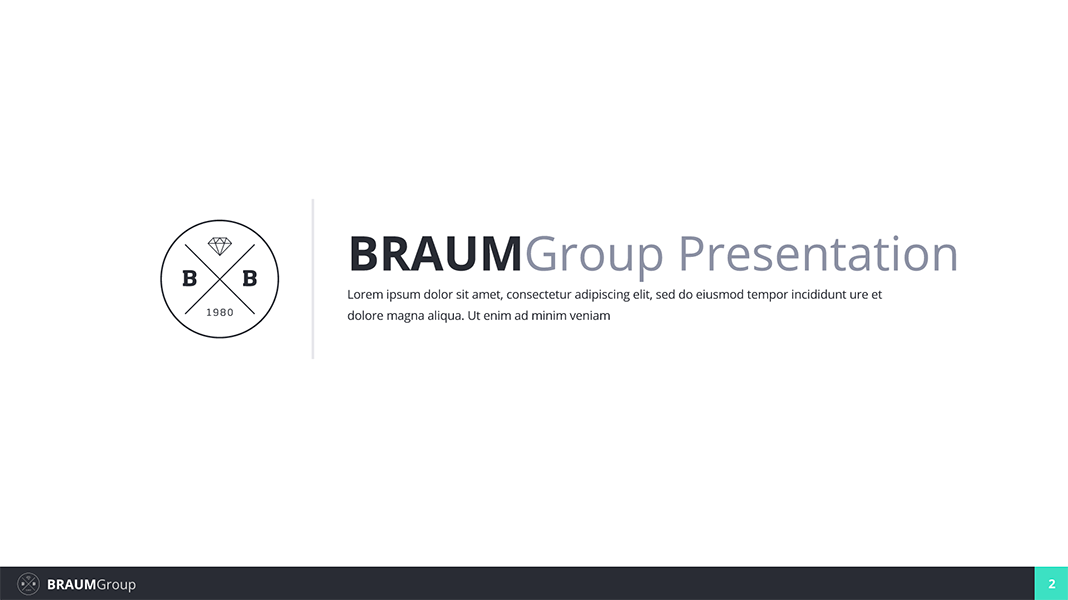 Braum Google slides Presentation Template by mikestraser | GraphicRiver