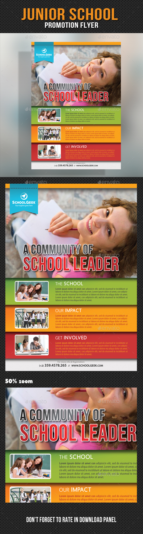 Junior School Promotion Flyer 11