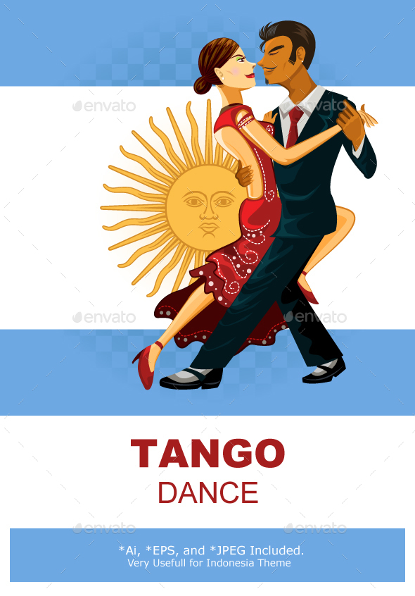 Tango Dance - Sports/Activity Conceptual